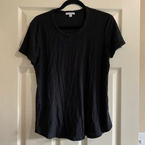 Standard James Perse black t shirt